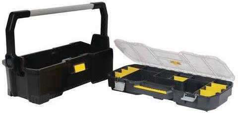 Uitgelezene Stanley 24 inch gereedschapskist met lade opbergsysteem BI-05